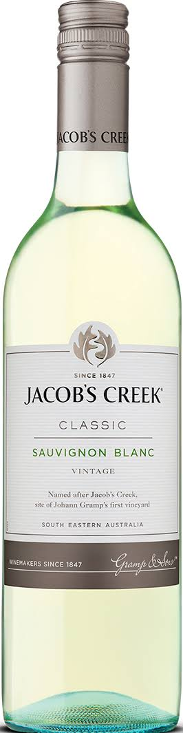 Jacob's Creek Sauvignon Blanc White Wine - Australia