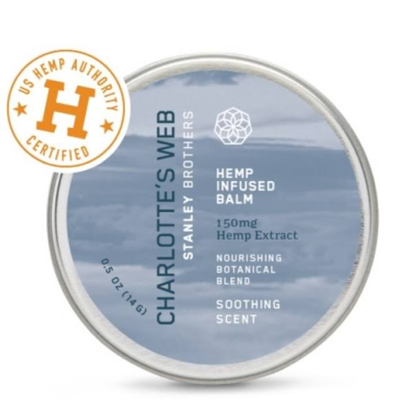 Charlotte's Web Hemp Infused Balm - Soothing Scent, 0.5 oz