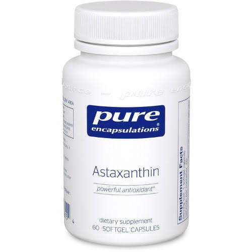 Pure Encapsulations Astaxanthin Dietary Supplement - 120 Softgel Capsules