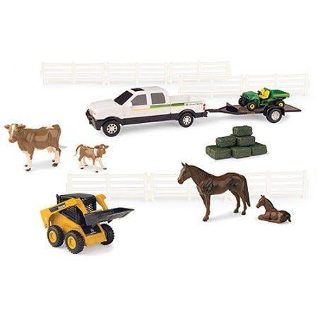 Tomy 46669 John Deere Farm Utility Vehicle Set
