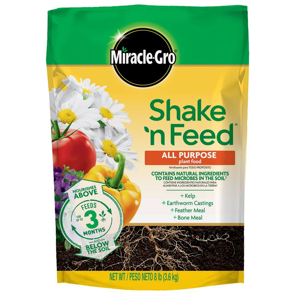 Miracle-Gro Shake N' Feed All Purpose Plant Food - 8lb