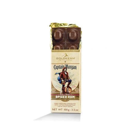Captain Morgan Goldkenn Swiss Milk Chocolate