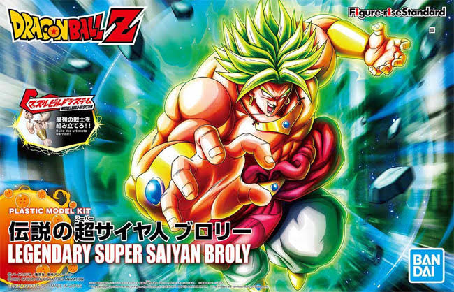 Bandai Figure-rise Standard Dragon Ball Legendary Super Saiyan Broly Plastic Model Kit