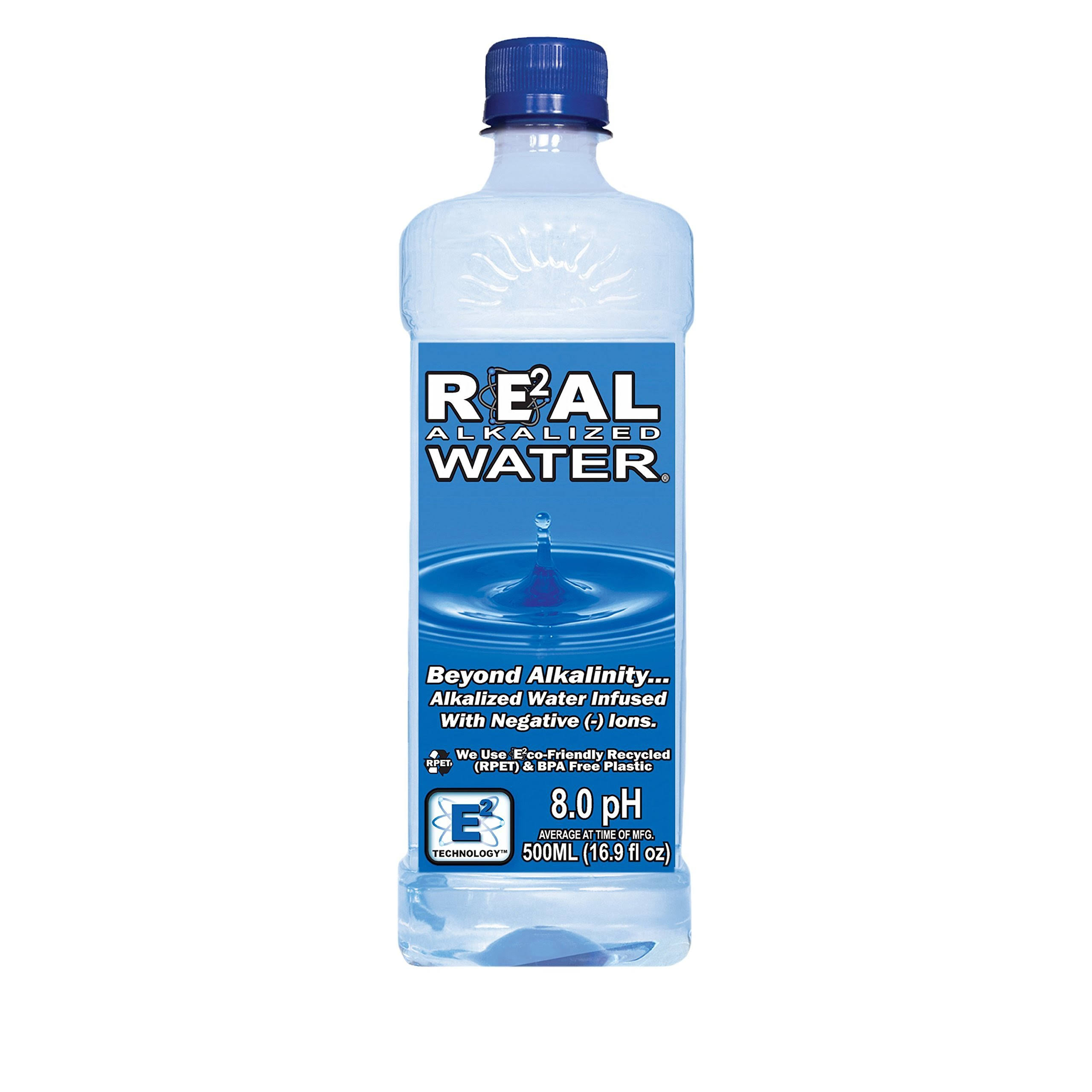 Real Water Alkalized Water - 16.9oz