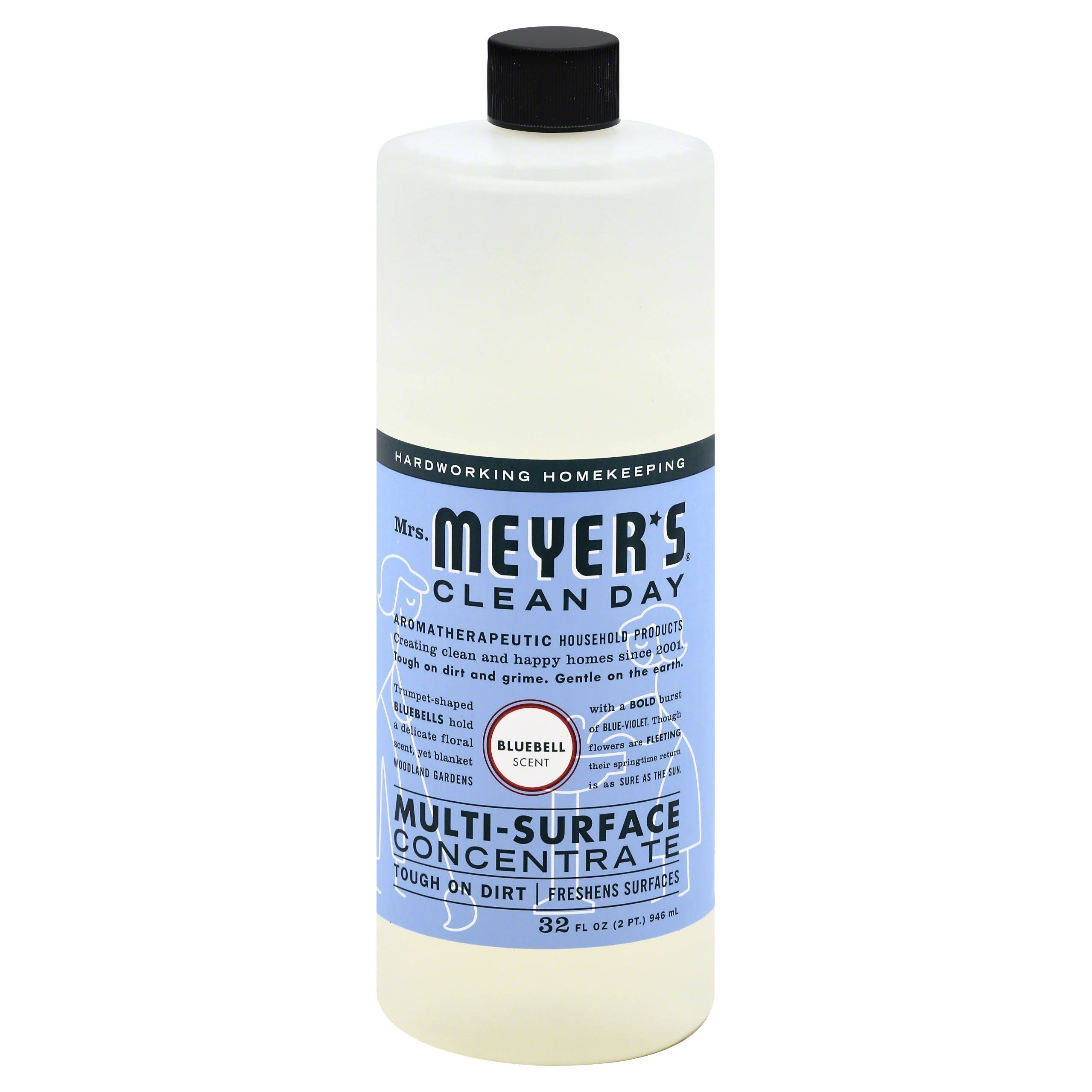 Mrs. Meyer's Multi Surface Concentrate - Bluebell, 32oz