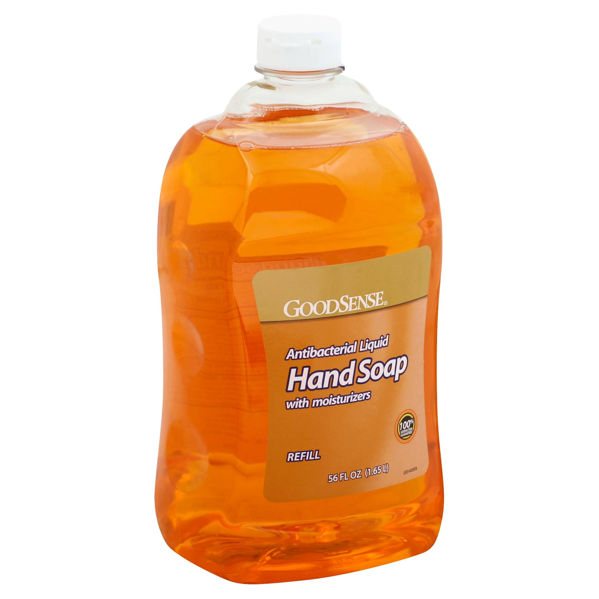 GoodSense Hand Soap, with Moisturizers, Antibacterial, Liquid, Refill - 56 fl oz