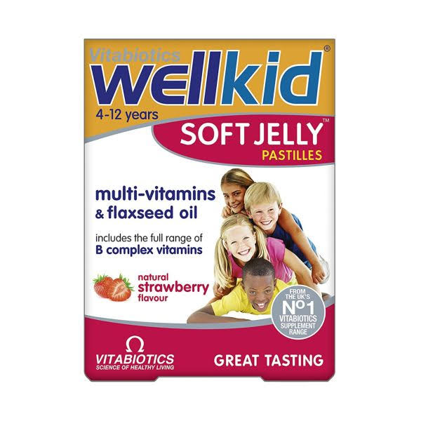 Vitabiotics WellKid Multivitamins - Strawberry, 30ct