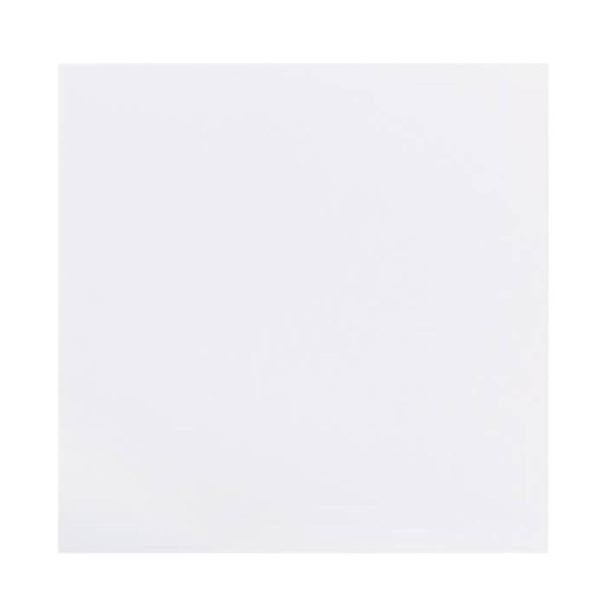 "Bazzill Self Adhesive Foam Sheets - 12"" x 12"", White, 15 sheets"