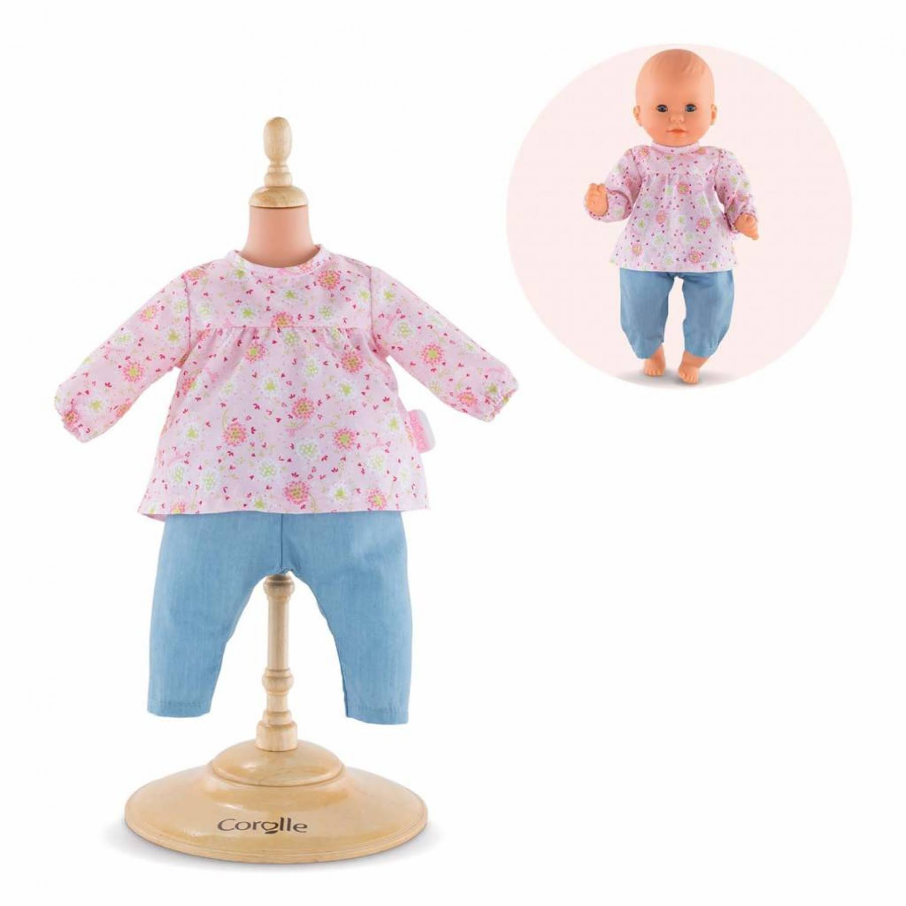 Corolle Mon Premier Poupon Baby Doll Blouse and Pants Accessory Toy