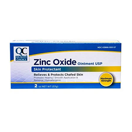Quality Choice QC Zinc Oxide Ointment 2oz