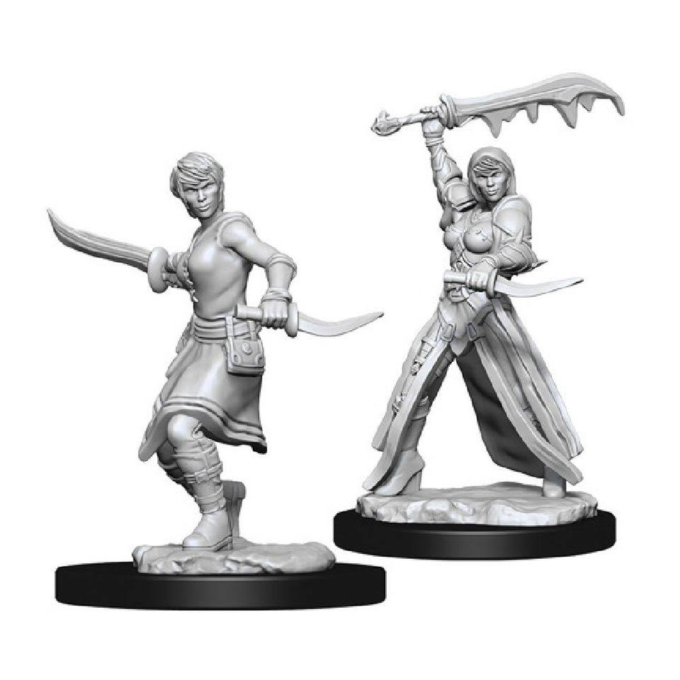 Dungeons & Dragons: Nolzur's Marvelous Unpainted Miniatures: Female Human Rogue