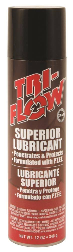 Tri-flow Superior Lubricant Aerosol Spray - 12oz