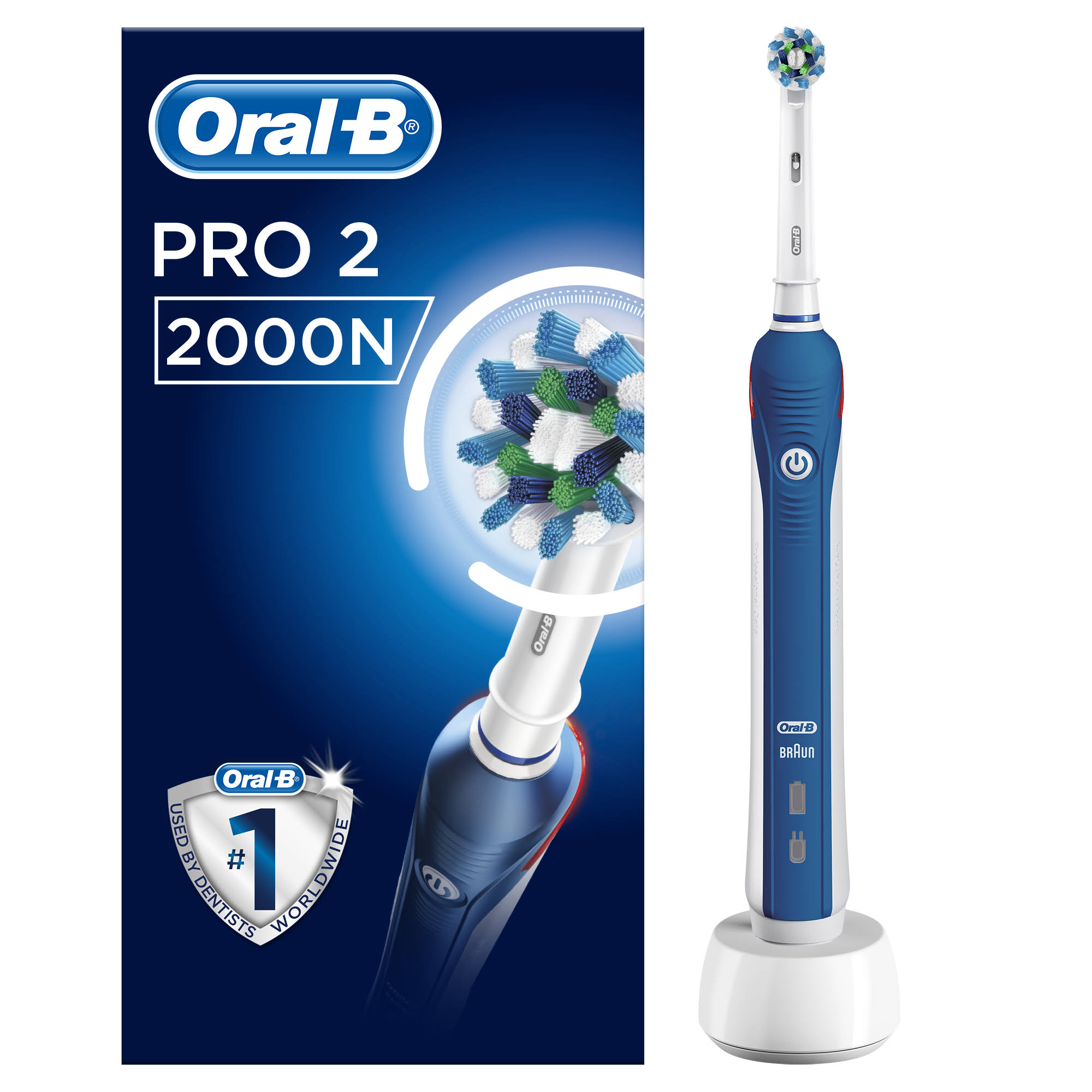 Oral B Pro 2000 Cross Action Electric Toothbrush