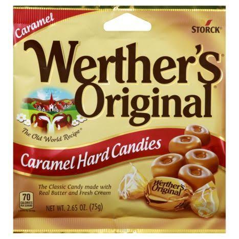 Werther's Original Hard Candies - 2.65 Oz