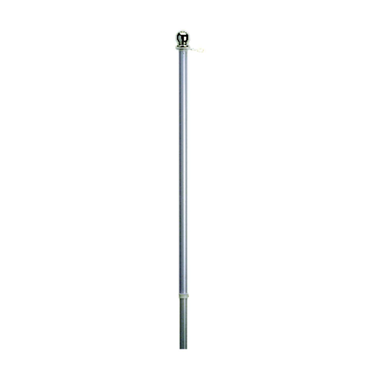 Valley Forge Brushed Aluminum Flag Pole - 5'