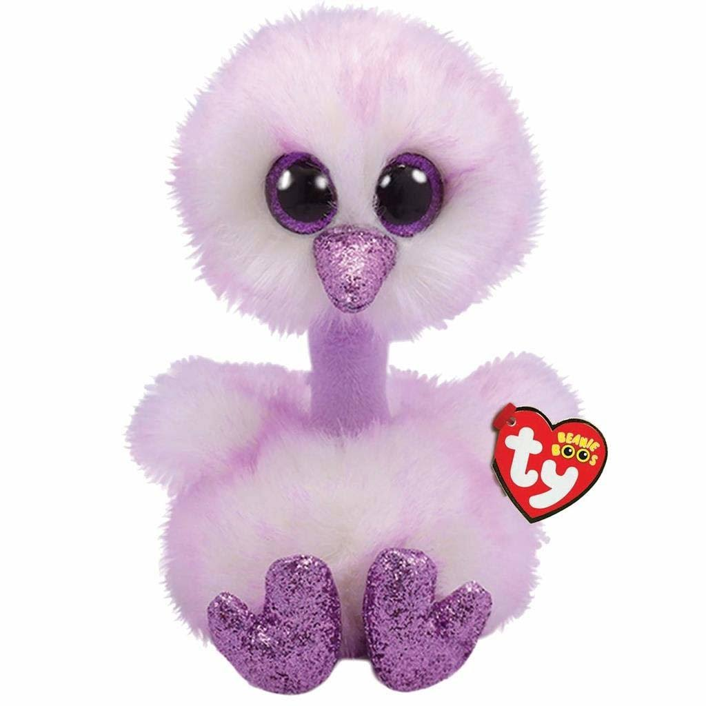 TY Beanie Boo's Kenya Ostrich Plush Animal Stuffed Toy - 24cm