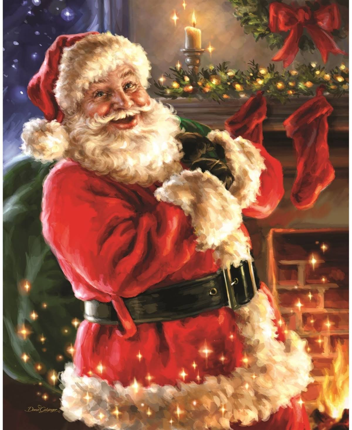 Night Before Christmas CC Exc Jigsaw Puzzle - 1000pcs