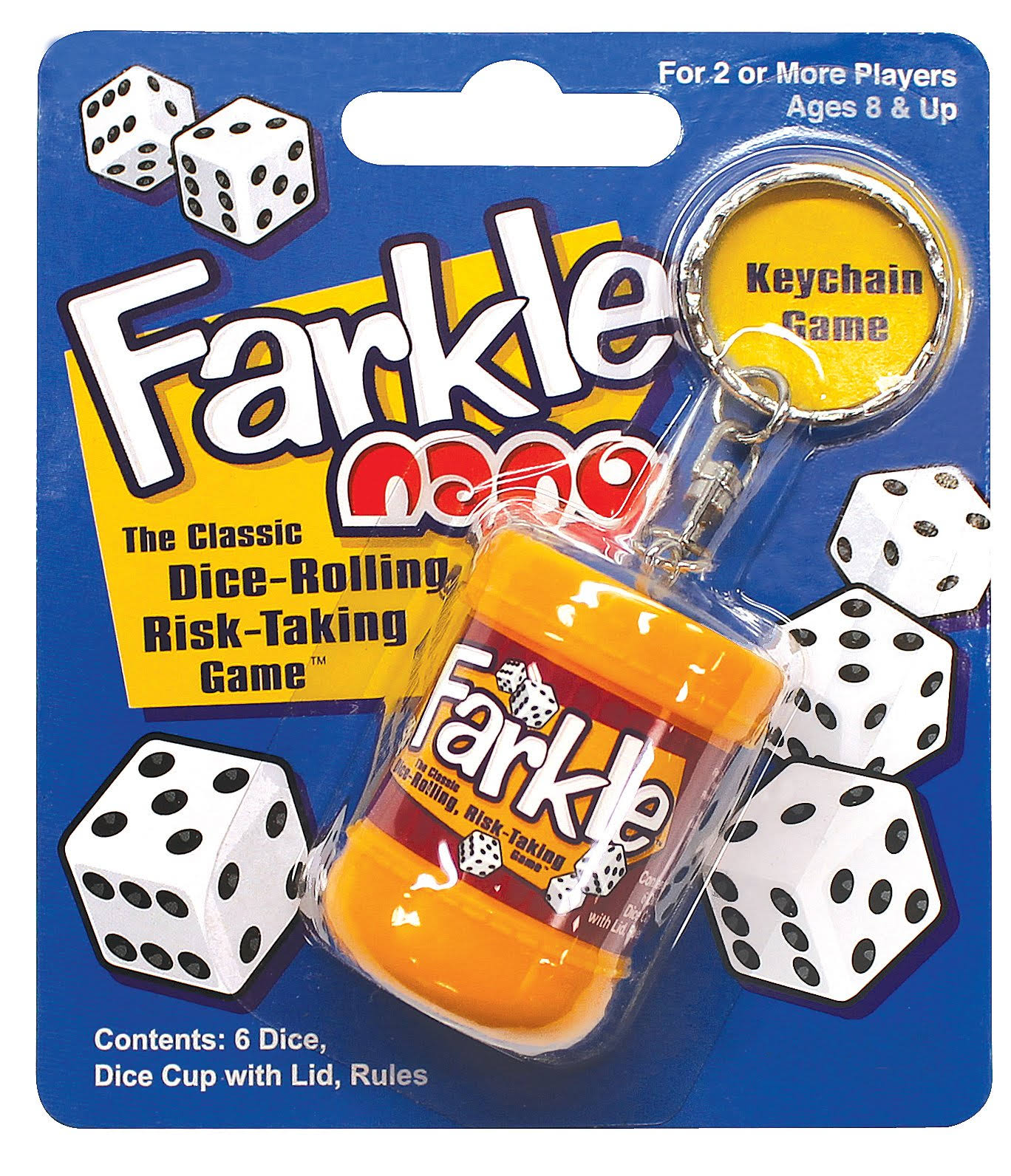 Patch Products 6810 Farkle Nano Keychain Game