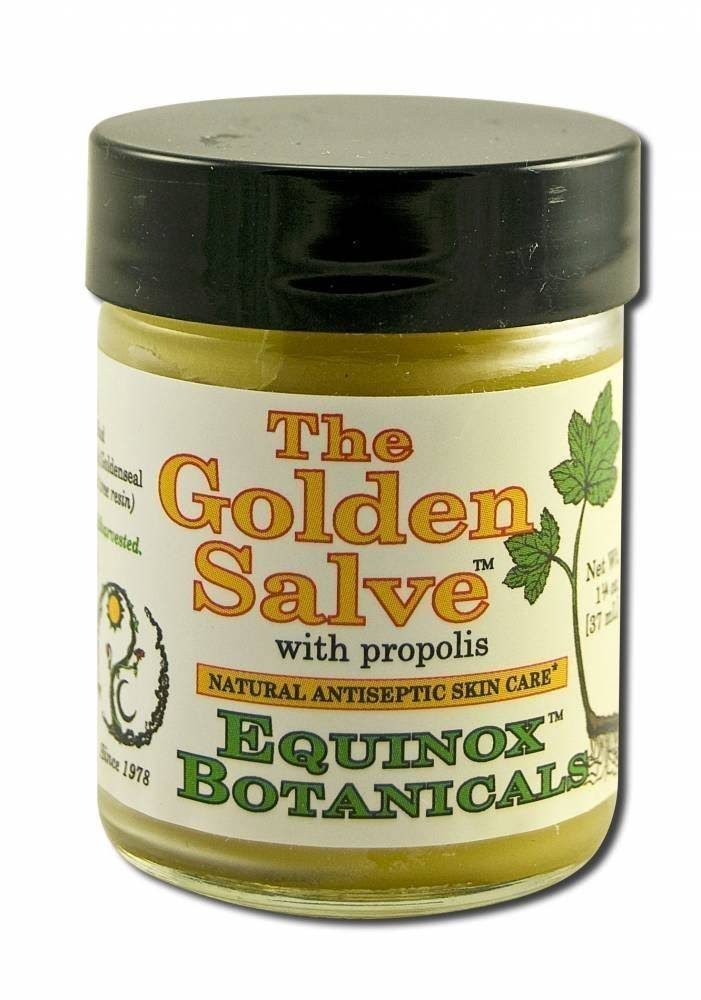 Equinox Botanicals Golden Salve With Propolis Antiseptic Skin Care - 1oz