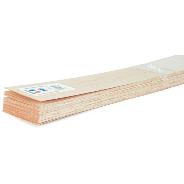 "Midwest Products 217181 Balsa Wood Sheet, 36"" x 1/8"" X 4"" - Pack of 15"