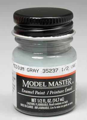 Testors Model Master Enamel Paint - 35237 Medium Gray, 14,7ml