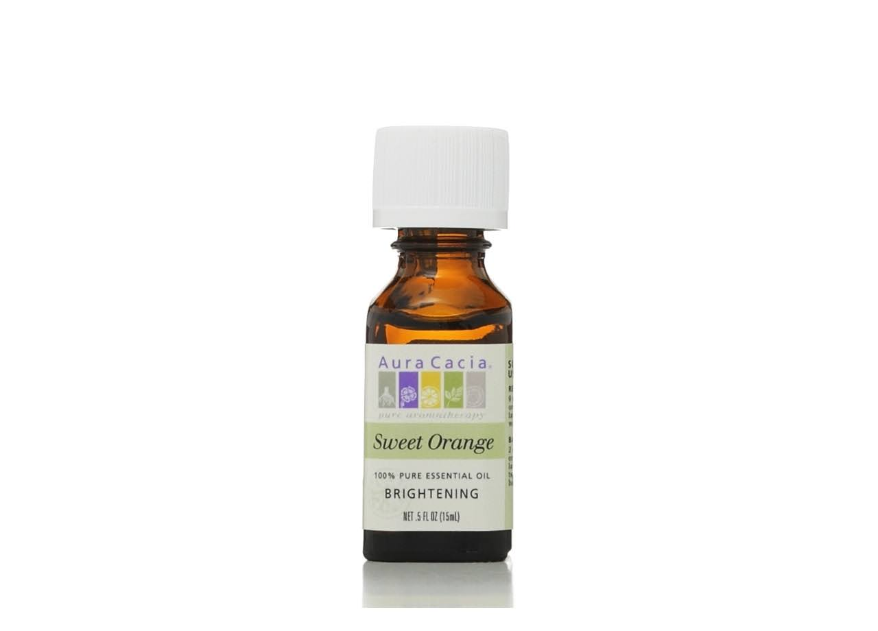 Aura Cacia Essential Oil - Sweet Orange, 15ml