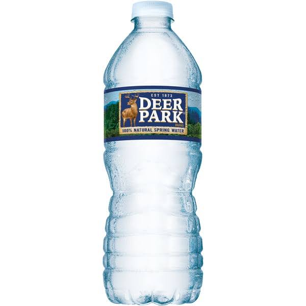 Deer Park Spring Water, 100% Natural - 16.9 oz