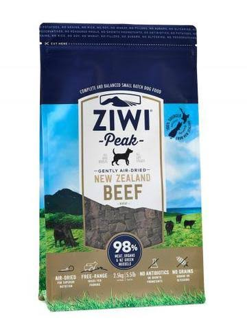 ZiwiPeak Air Dried Dog Food - Beef