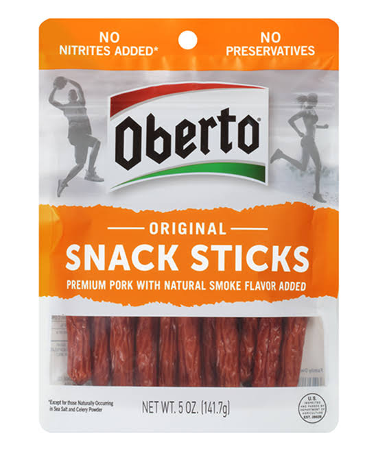 Oberto Smoked Sausages, Classic Recipe - 5 oz