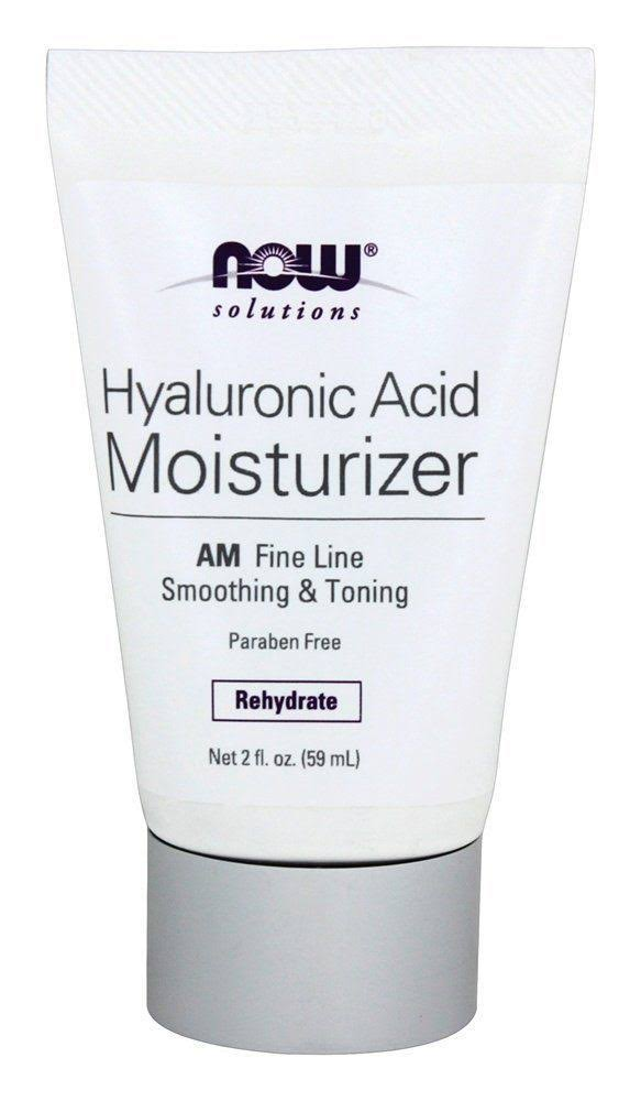 Now Foods Solutions Hyaluronic Acid Moisturizer - 2oz