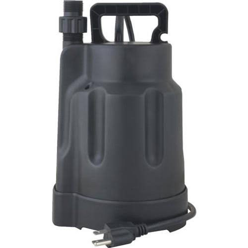 "Do it Best 433039 Submersible Utility Sump Pump - 1/6hp, 900gph, 115v, 3/4"" NPT, 1ph"