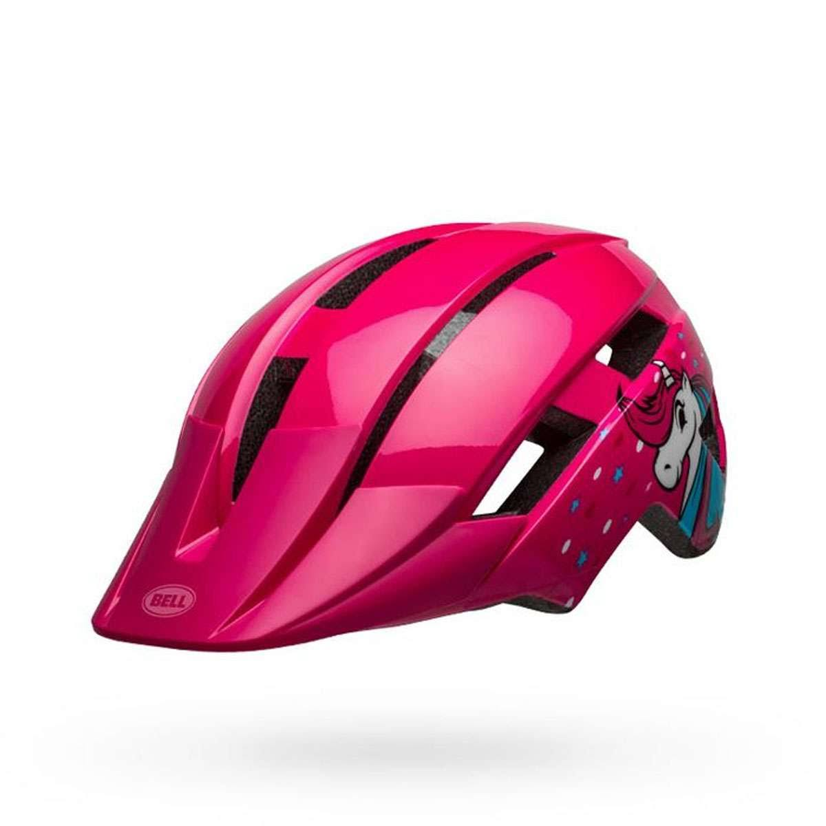Bell Sidetrack II Helmet Toddler Pink Unicorn