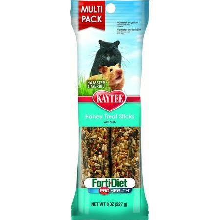 Kaytee Ti Diet Pro Health Hamster and Gerbil Honey Stick - 8oz