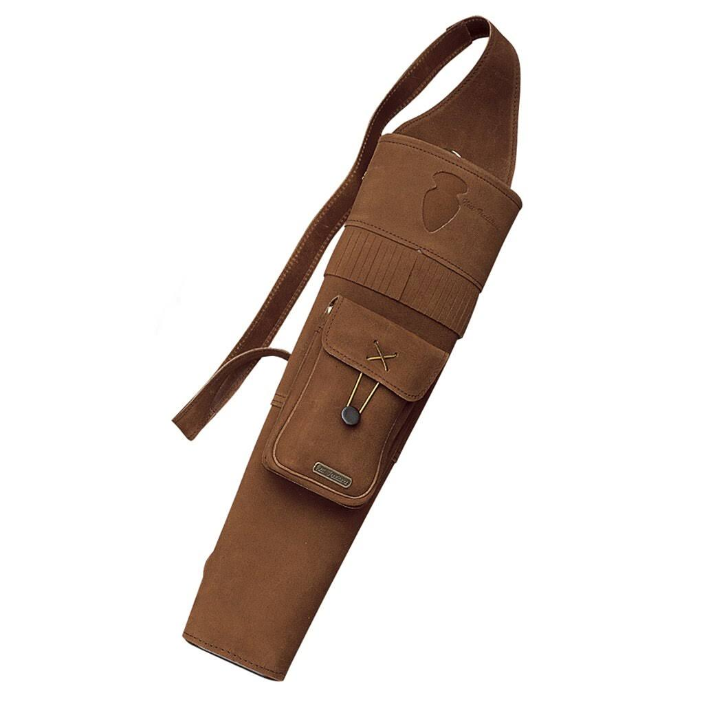 Neet Back Quiver Archery Quivers - Right Handed, Brown