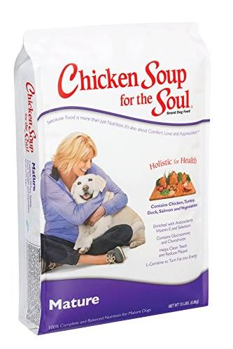 Chicken Soup for the Soul Mature Dry Dog Food - 30lb