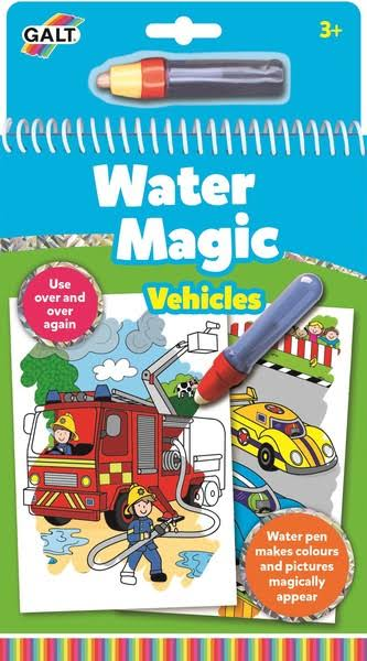 Galt Toys Water Magic Pads Activity Kit - Vehicles