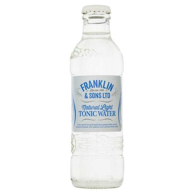 Franklin & Sons Natural Light Tonic Water - 200ml