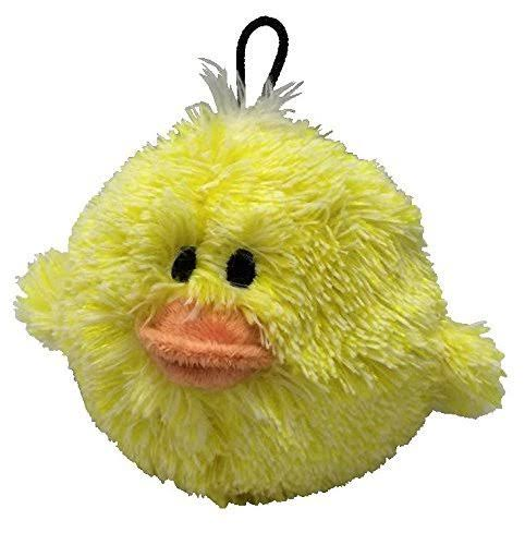 Petlou EZ Squeaky Ball Dog Toy - Chick 4""