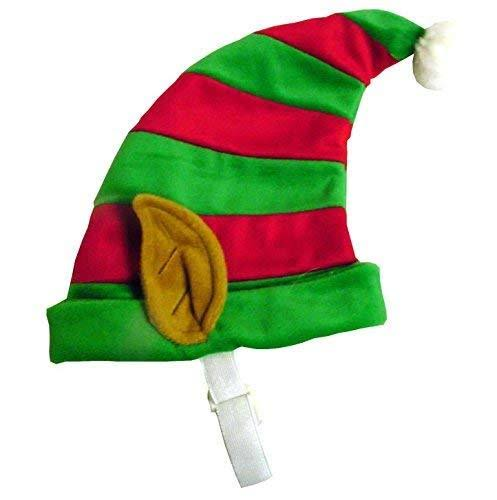 Outward Hound Kyjen Elf Dog Hat - Large, Red and Green
