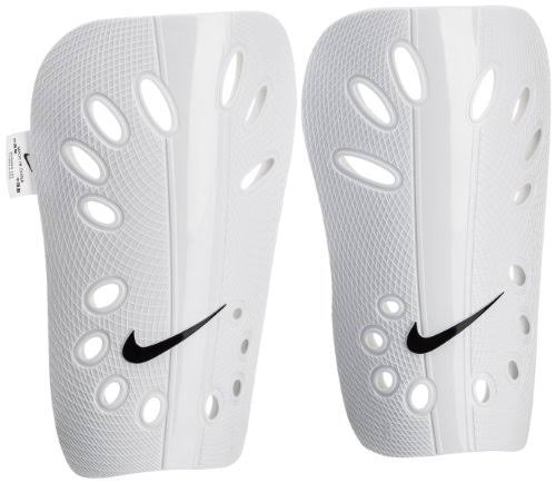 Nike J Guard Soccer Shin Guards - White, Small
