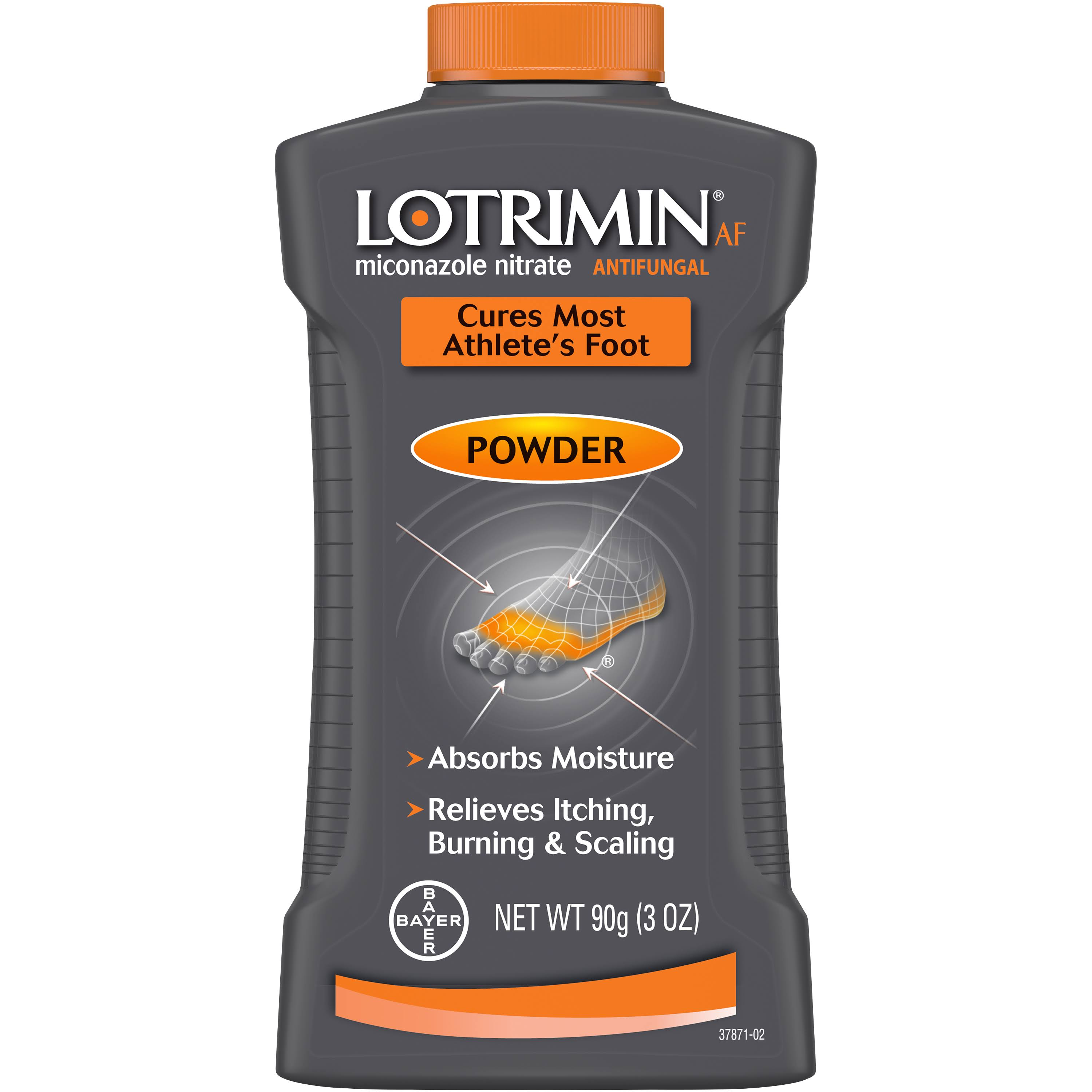 Lotrimin Antifungal Powder for Athlete's Foot - 3oz