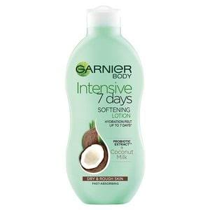 Garnier Intensive 7 Days Coconut Milk Body Lotion Dry Rough Skin 400ml