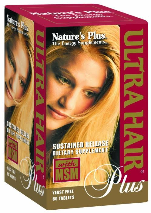Nature's Plus Ultra Hair Plus Tablets - x60