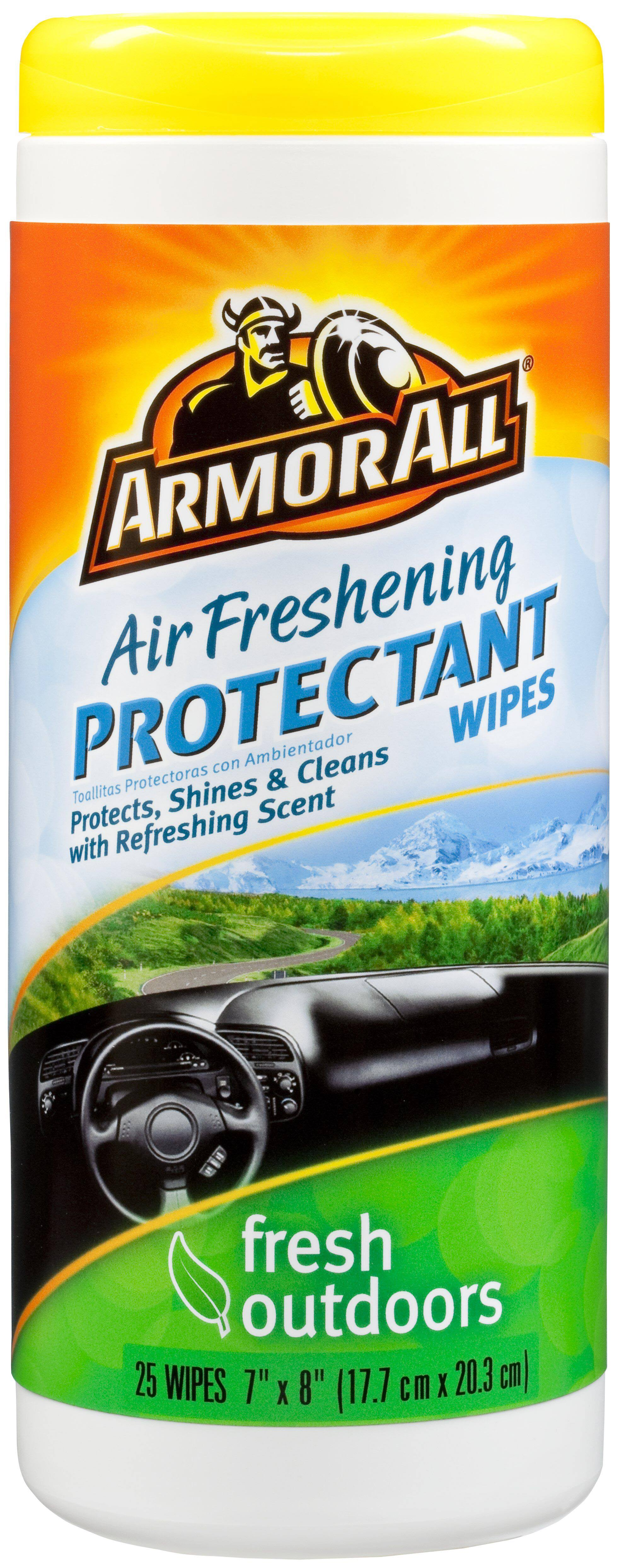 Armour All Protectant Wipes - Fresh Outdoors, 25ct