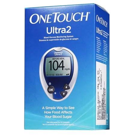 OneTouch Ultra Diabetes Blood Glucose Monitoring Meter | CVS
