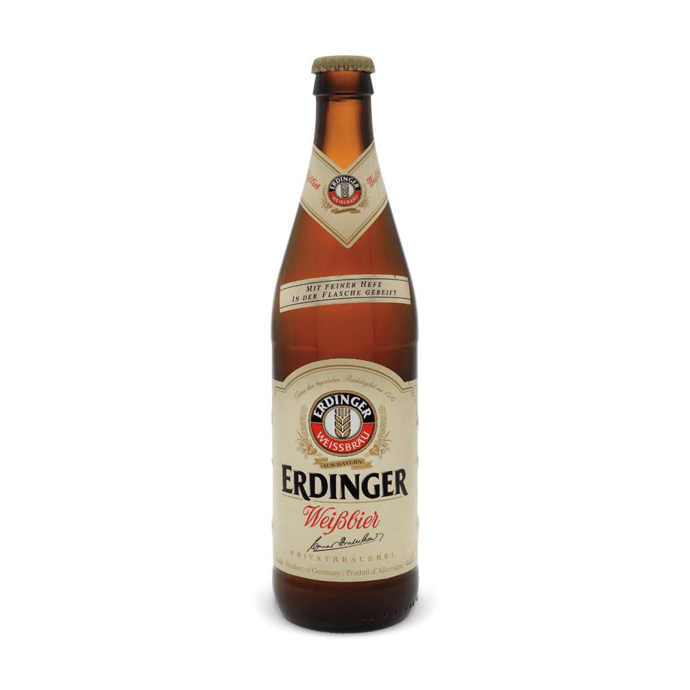 Erdinger Weissbrau Wheat Beer - 500ml