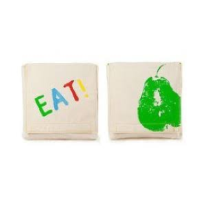 Fluf Good Eats Reusable Snack Pack - 2pc
