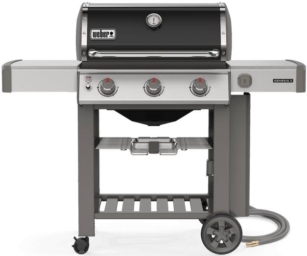 Weber Genesis II E-310 Natural Gas Grill - Black, 3 Burners