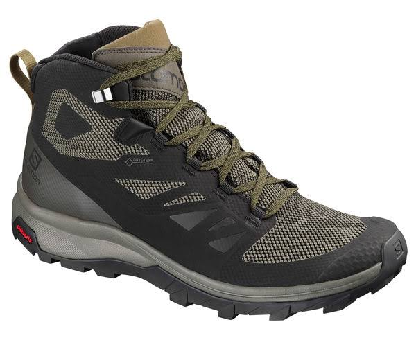 Salomon Men's Outline Mid GTX Black 11