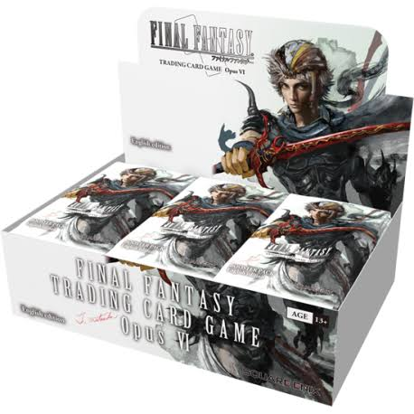 Final Fantasy: Opus VII Collection Booster Trading Card Game